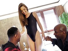 BBC Slut Amirah Adara Offers Up All Three Of Her Sweet Holes