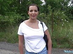 Public Agent Hot tourist Sophia Laure fucked and creampied