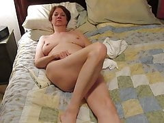 Julie masturbating to orgasm