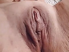 An absolutely horny woman with a sexy body. Just awesome