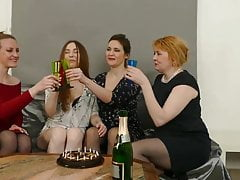 four lesbian