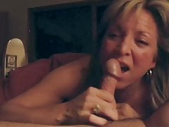 Beautiful mature Sucks For Cum
