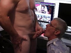 Watch my DADDY suck DICK