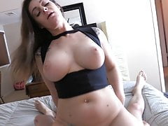 Big Tit Milf Sister-In-Law Begs for My Dick
