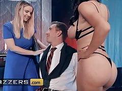 Horny Stripper Krissy Lynn Seduces Danny D, Big Juicy Cock