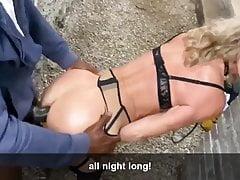 OMG Honey! I'm a BBC Butt Slut!!!