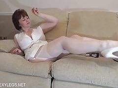 Christine - White Stockings