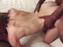 Hubby records wife with 2 bbcs