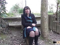 French mature takes two dicks